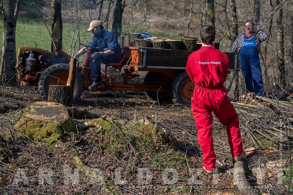 Giornate nel bosco a far legna