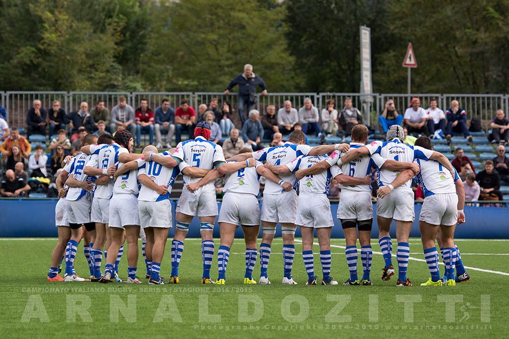 Sondrio Sportiva Rugby - Stagione 2014/2015 - Andata