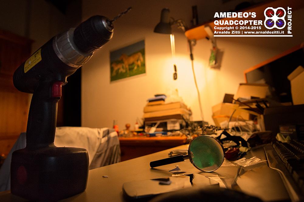 Amedeo Zitti, progettazione, costruzione e sviluppo di un quadri