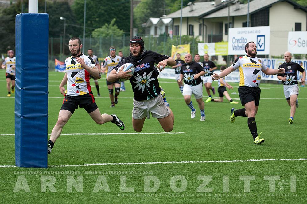 Sondrio Sportiva Rugby - Stagione 2014/2015 - Ritorno
