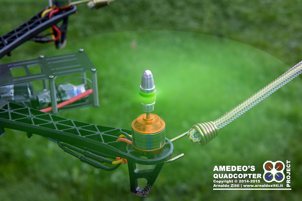 Amedeo - Costruzione Quadricottero
